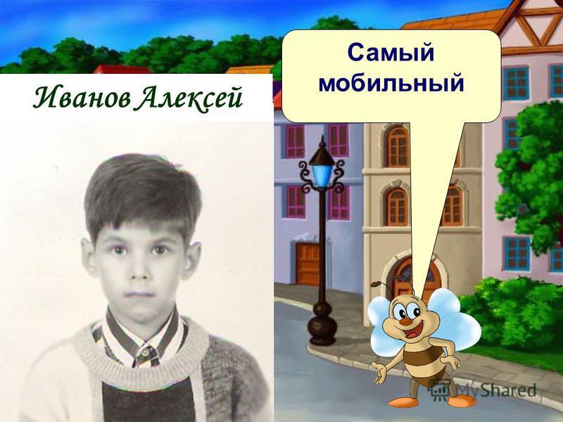 Самый мобильный Иванов Алексей