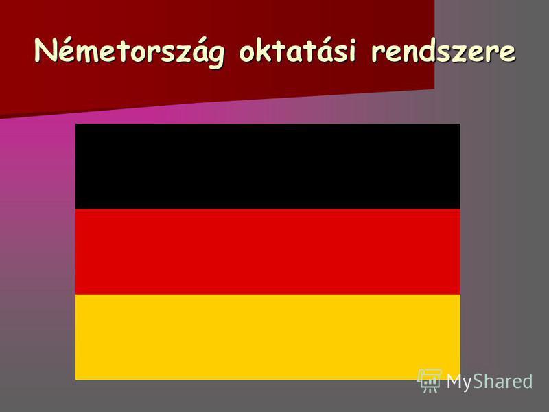 Németország oktatási rendszere