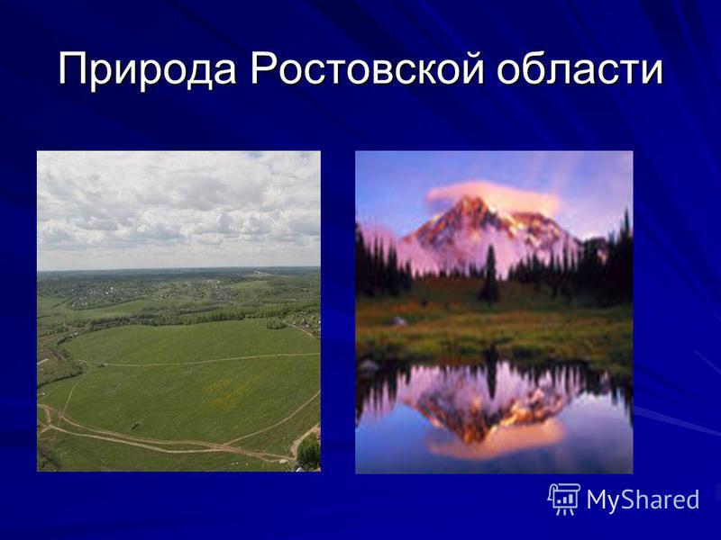 Природа Ростовской области