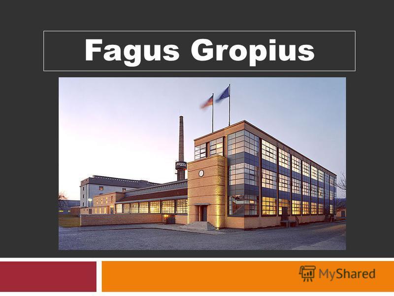 Fagus Gropius