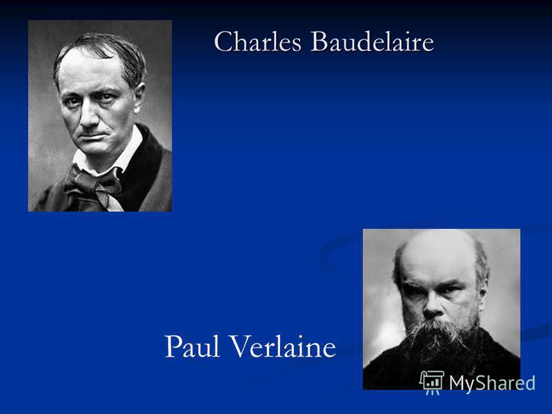 Charles Baudelaire Paul Verlaine