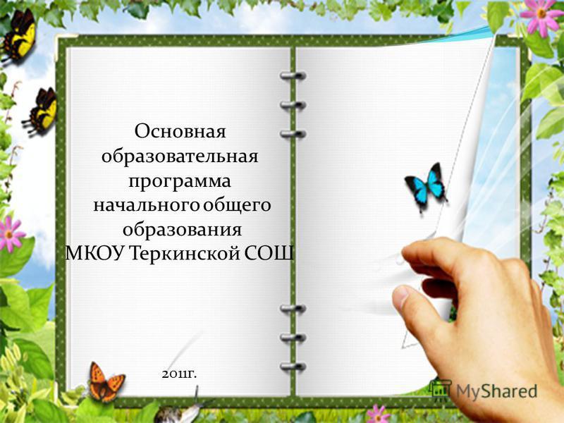 Основная образовательная программа начального общего образования МКОУ Теркинской СОШ 2011 г.