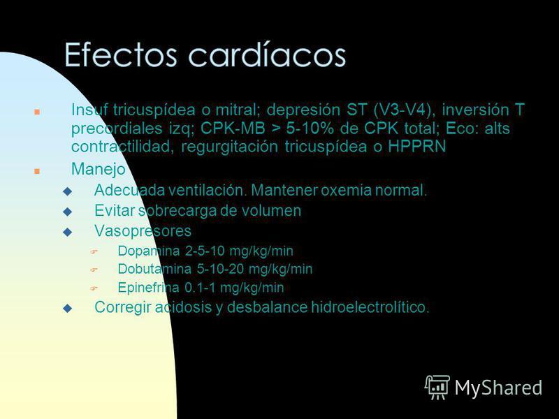 n Manejo de las Convulsiones u Fenobarbital F DI 10-20 mg/kg EV c/15-30 min hasta llegar a 40-60 mg/kg. F DM 1.5-2.5 mg/kg c/12-24 hs a las 12-24 hs u Difenilhidantoína F DI 15-25 mg/kg EV diluído a > 1 mg/kg/min. F DM 2-4 mg/kg c/12-24 hs (máx. 3 dí