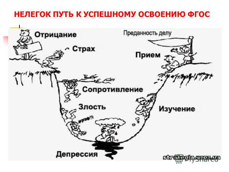 НЕЛЕГОК ПУТЬ К УСПЕШНОМУ ОСВОЕНИЮ ФГОС
