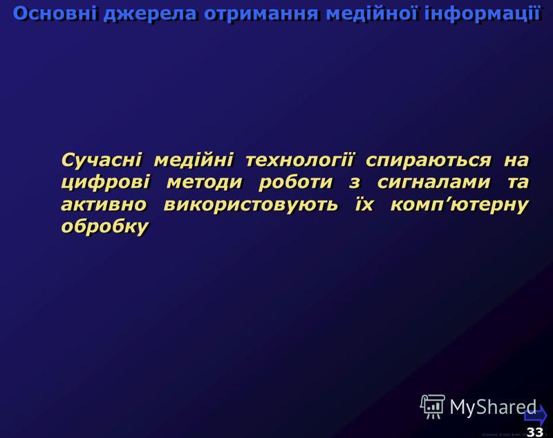 М.Кононов © 2009 E-mail: mvk@univ.kiev.ua Використання кольорових і сірих зображень 32