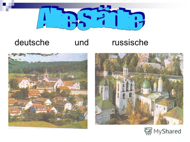 deutsche und russische