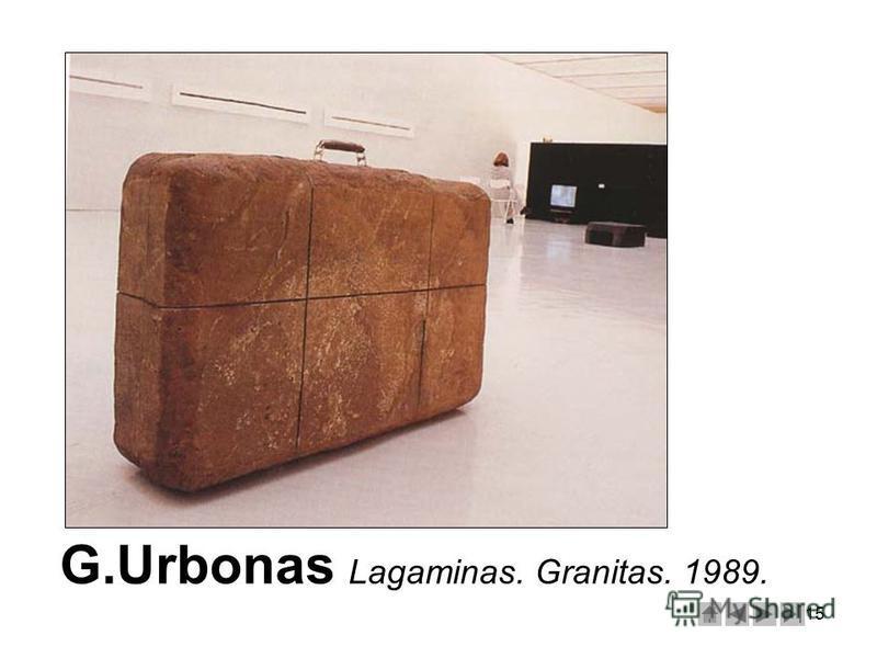 15 G.Urbonas Lagaminas. Granitas. 1989.