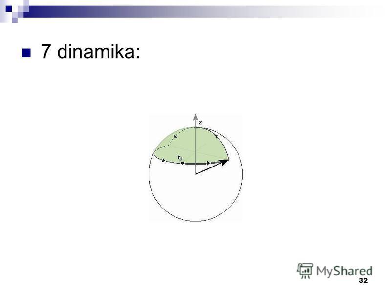 32 7 dinamika: