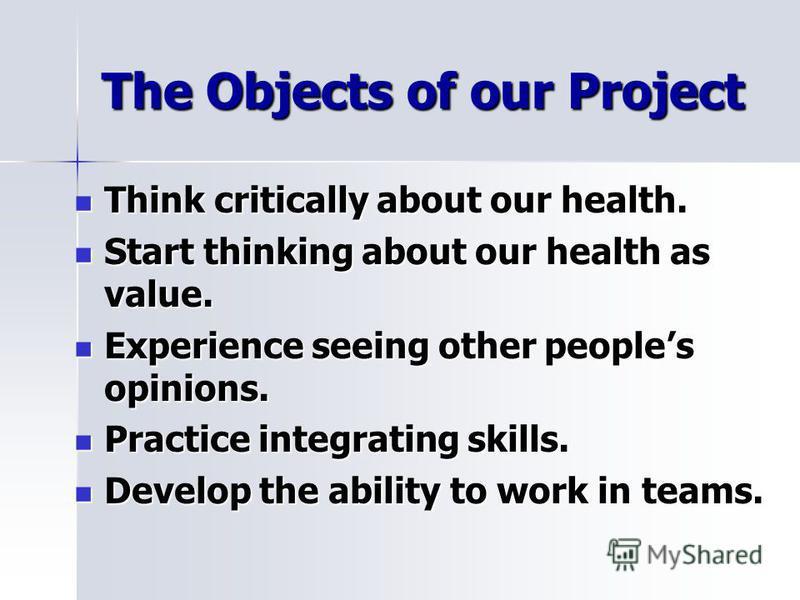 "Презентация на тему: ""Health Problems. Yablonitsy school ..."