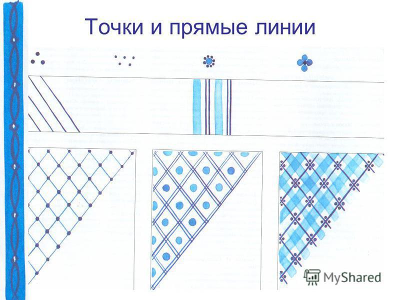 Точки и прямые линии