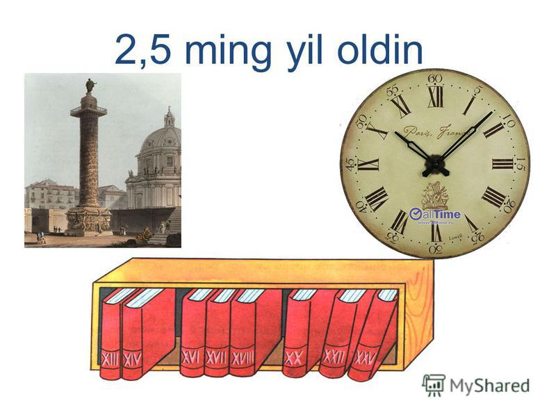 2,5 ming yil oldin