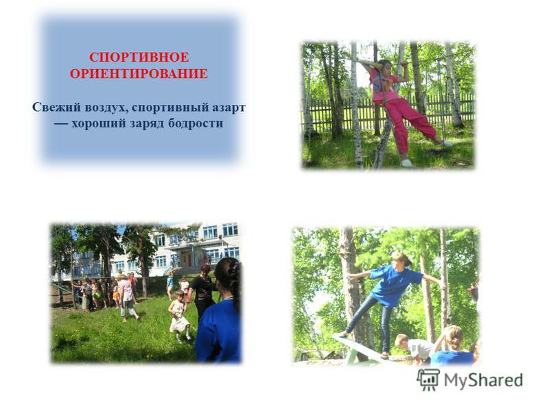 СПОРТИВНОЕ ОРИЕНТИРОВАНИЕ Свежий воздух, спортивный азарт хороший заряд бодрости