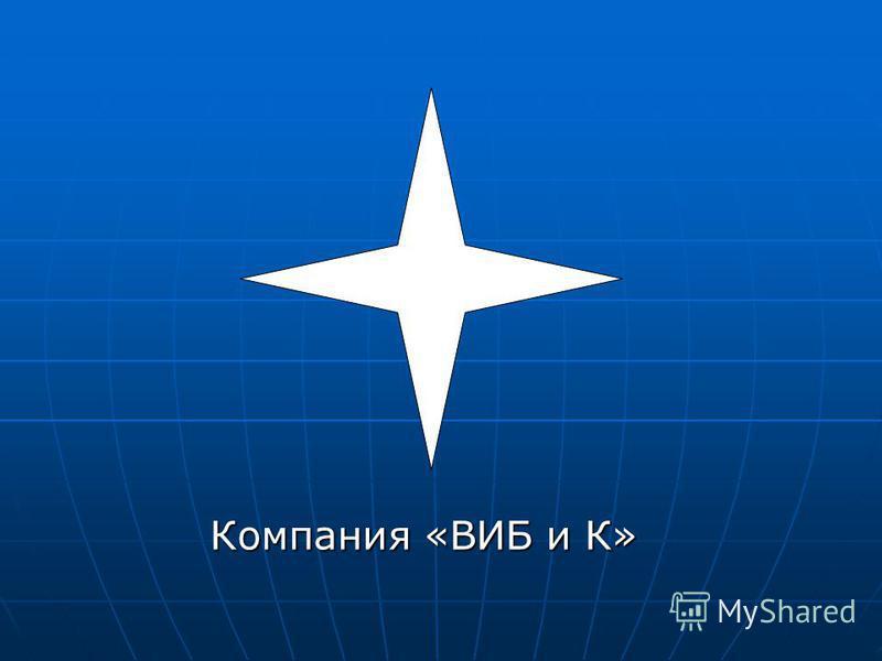 Компания «ВИБ и К»