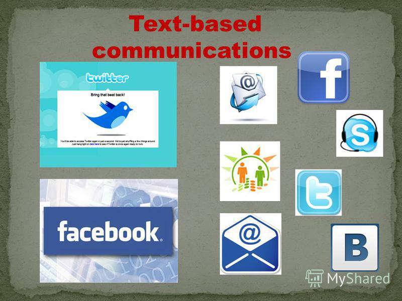 Text-based communications