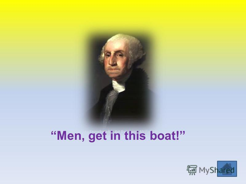 Men, get in this boat!