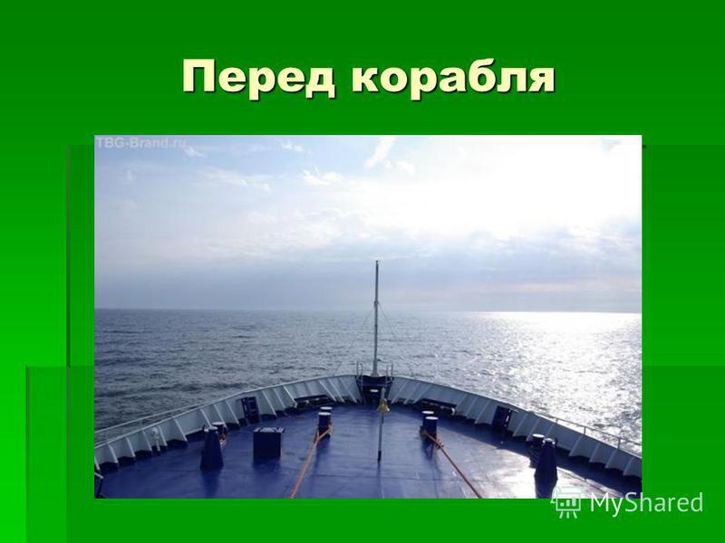 Перед корабля