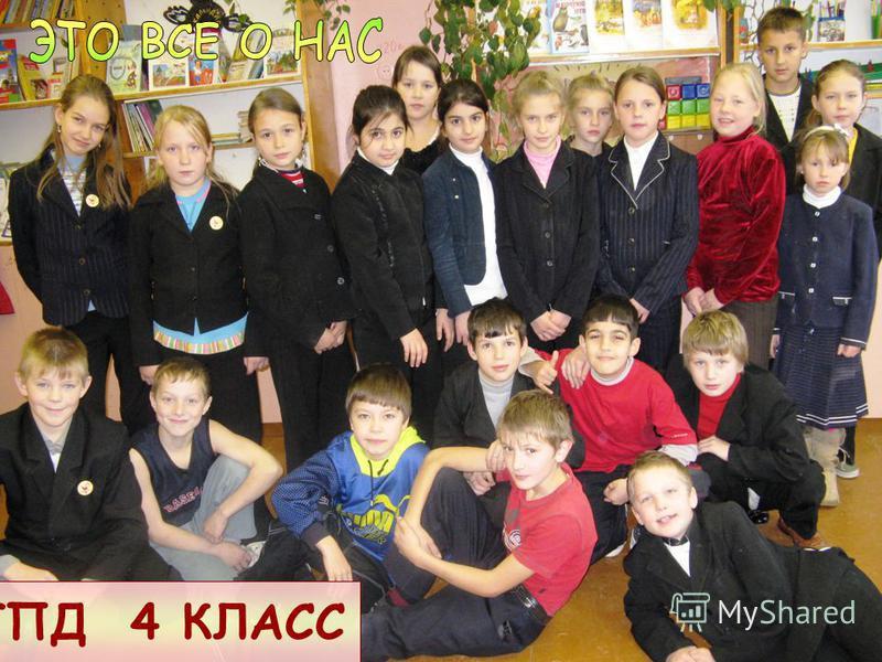 ГПД 4 КЛАСС