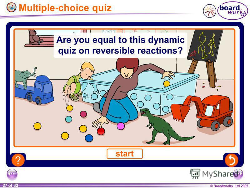 © Boardworks Ltd 2005 27 of 33 Multiple-choice quiz