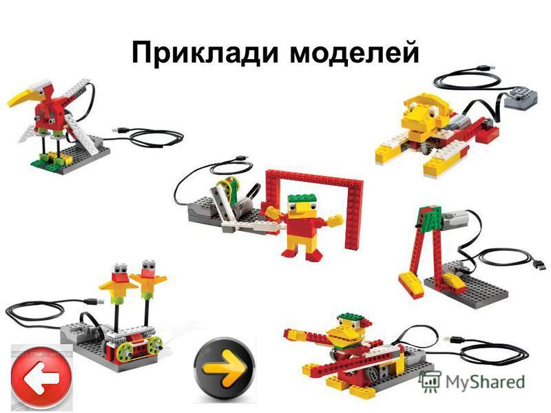 Приклади моделей