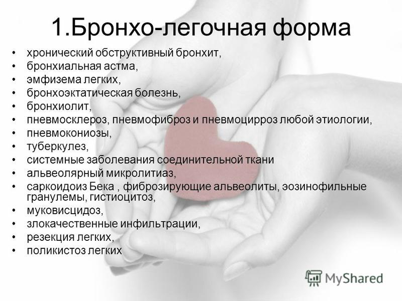 Хронический Обструктивный Бронхит Реферат