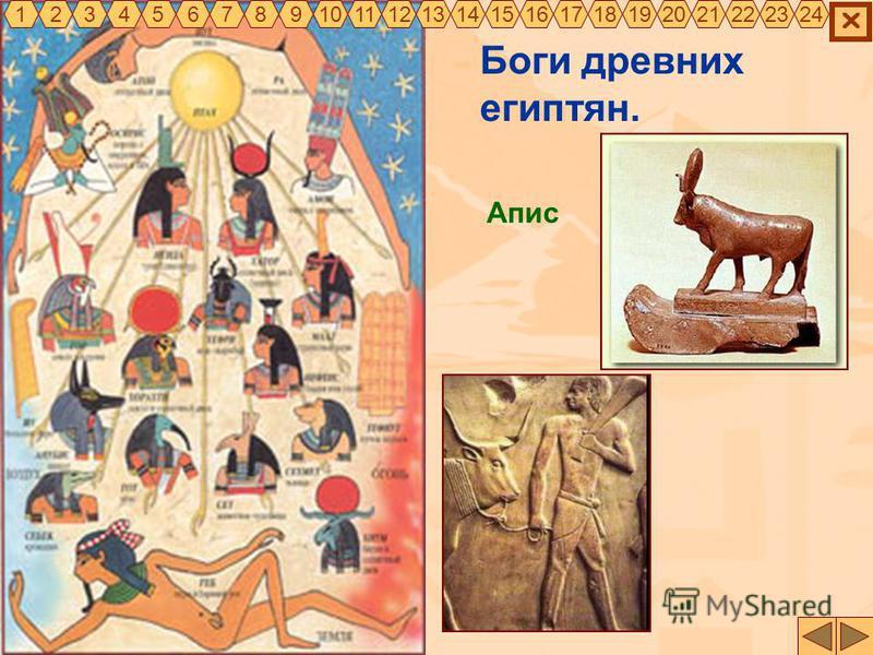 Боги древних египтян. Апис 325467891011121314151617181920212322241