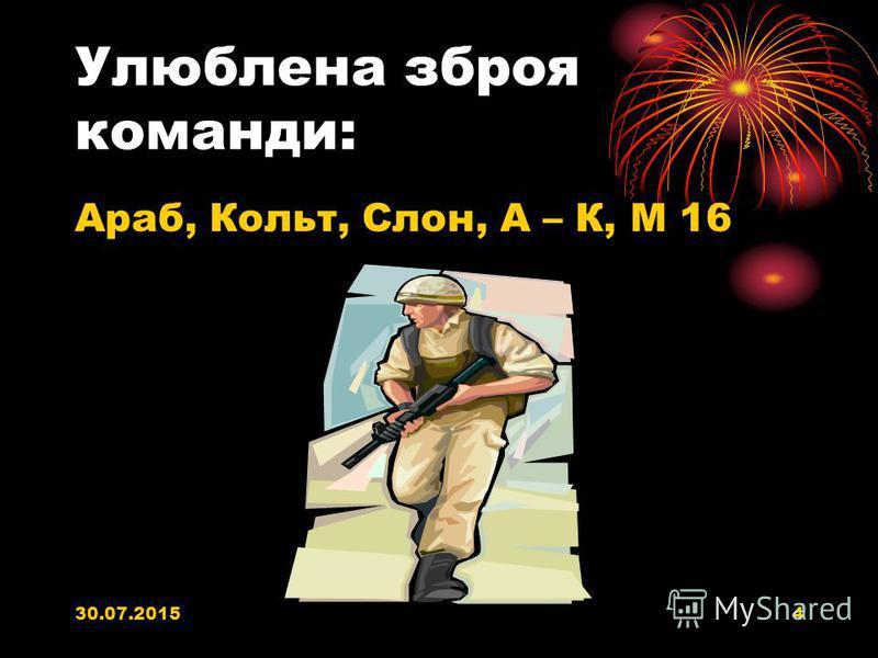 30.07.20153 КАПІТАН КОМАНДИ: DIMON