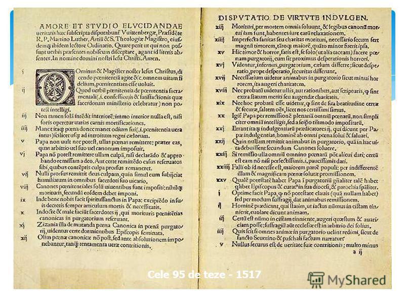 Cele 95 de teze - 1517
