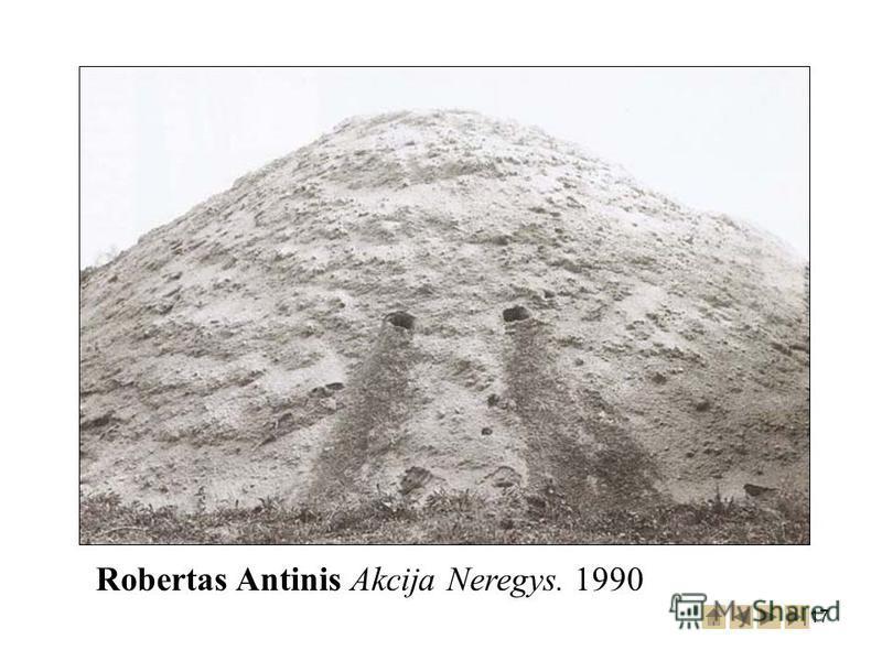 17 Robertas Antinis Akcija Neregys. 1990