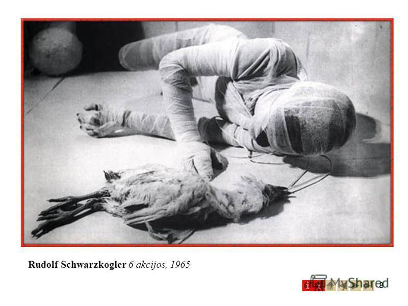 8 Rudolf Schwarzkogler 6 akcijos, 1965