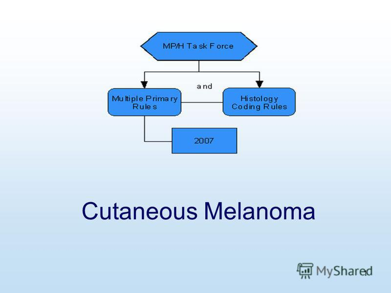 1 Cutaneous Melanoma