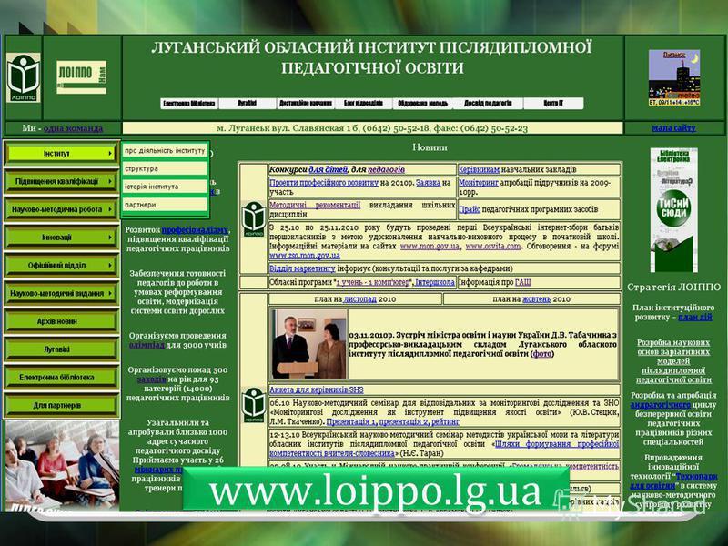www.loippo.lg.ua