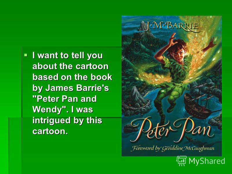 Peter Pan English Book