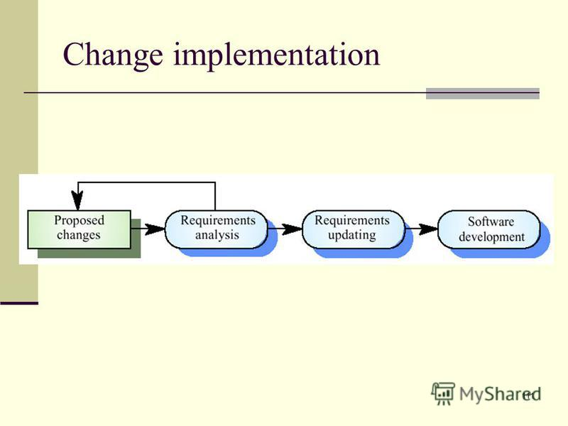 111 Change implementation