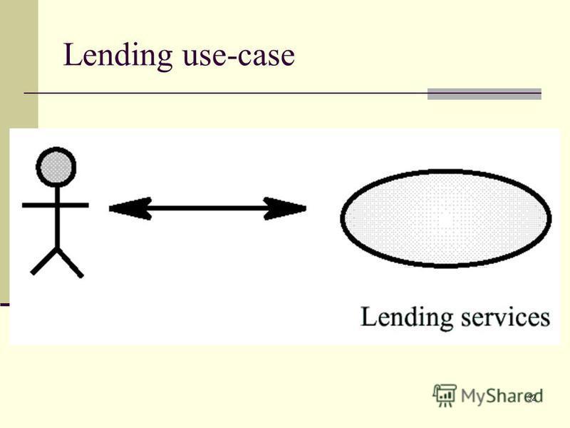 32 Lending use-case