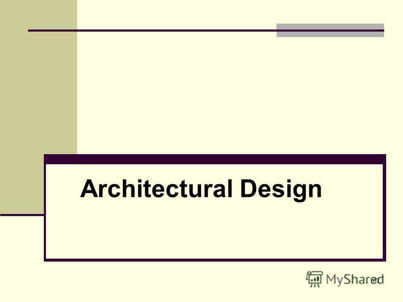 63 Architectural Design