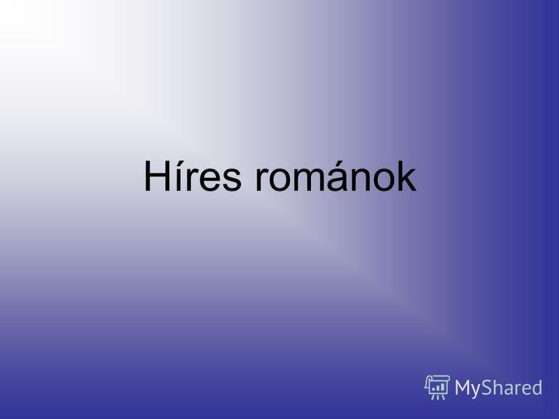 Híres románok