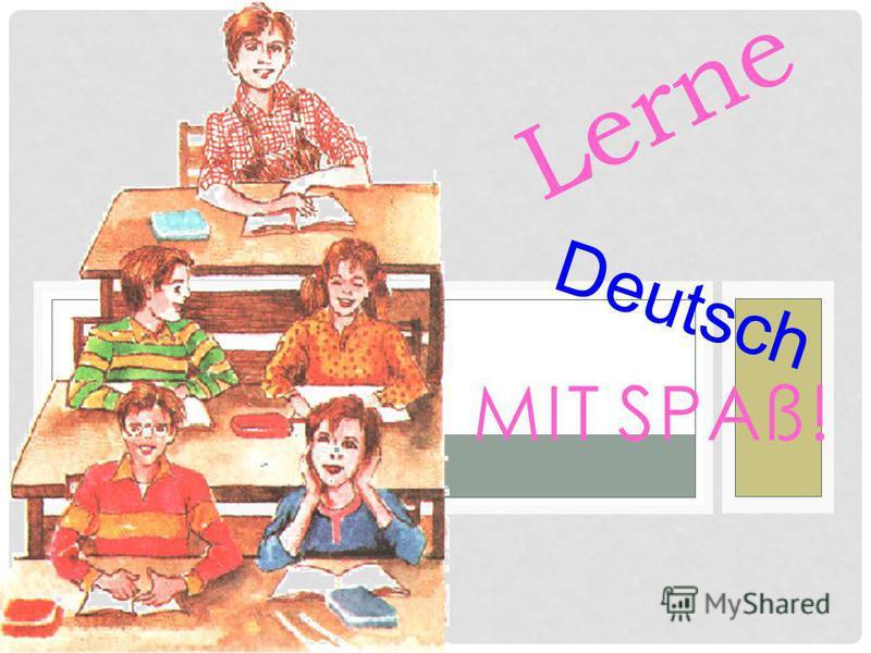 MIT SPAß! Lerne Deutsch