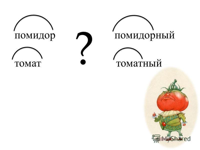 помидор томат помидорный томатный ?