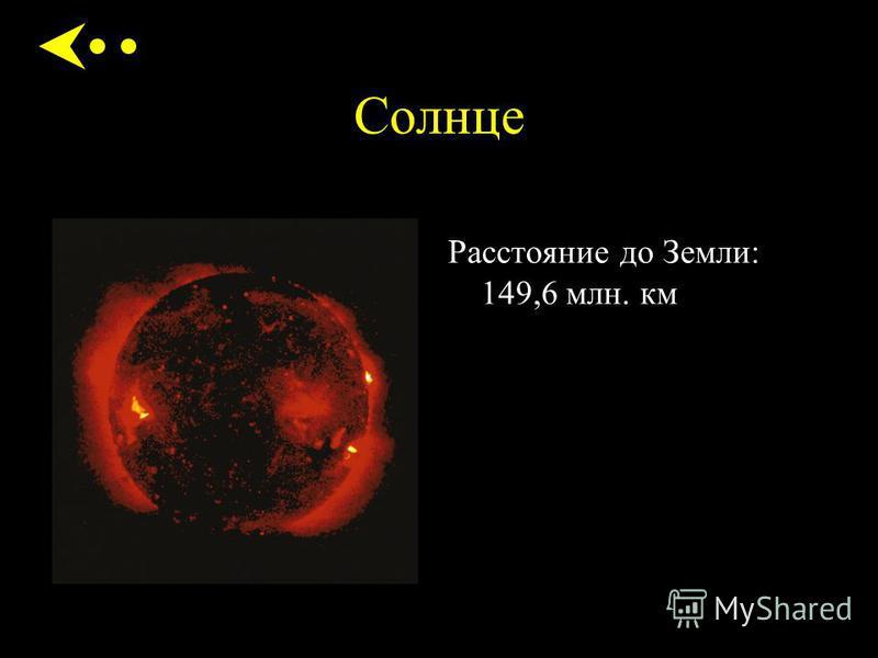 Расстояние до Земли: 149,6 млн. км