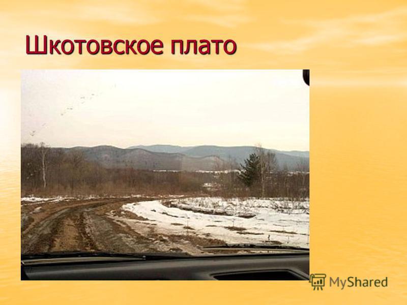 Шкотовское плато