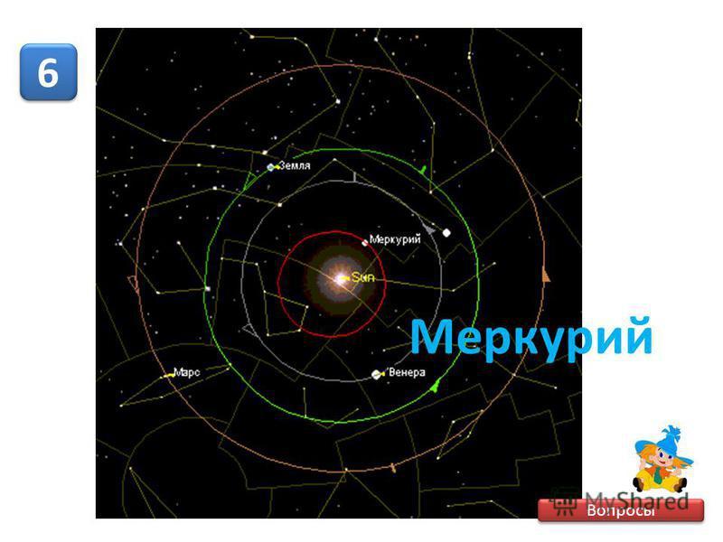 Вопросы 6 6 Меркурий