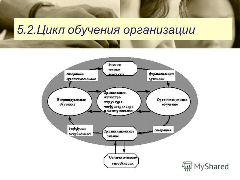 5.2. Цикл обучения организации
