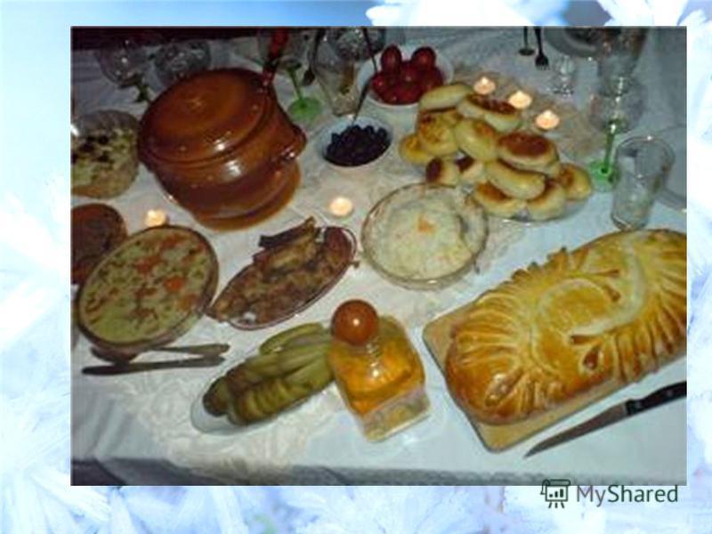 Традиционное блюдо рождества в россии