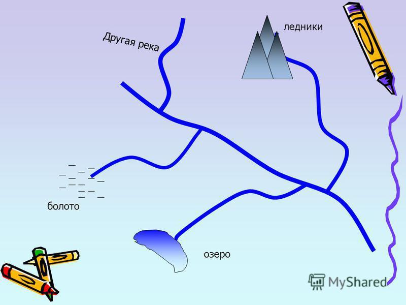 болото ледники озеро Другая река