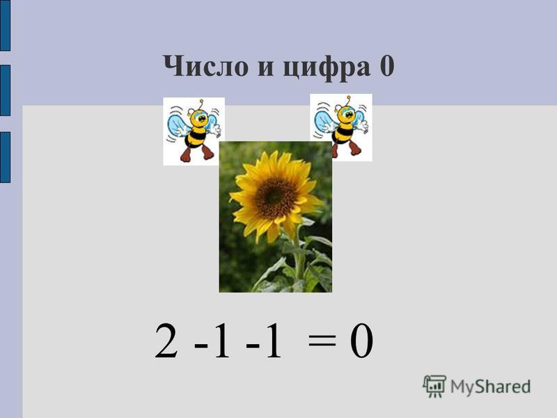 Число и цифра 0 2= 0