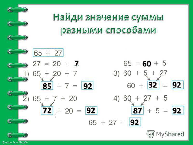 © Фокина Лидия Петровна 7 8592 7292 60 3292 8792 92
