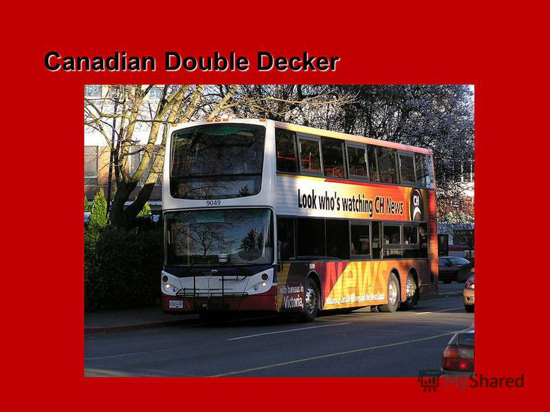 Canadian Double Decker