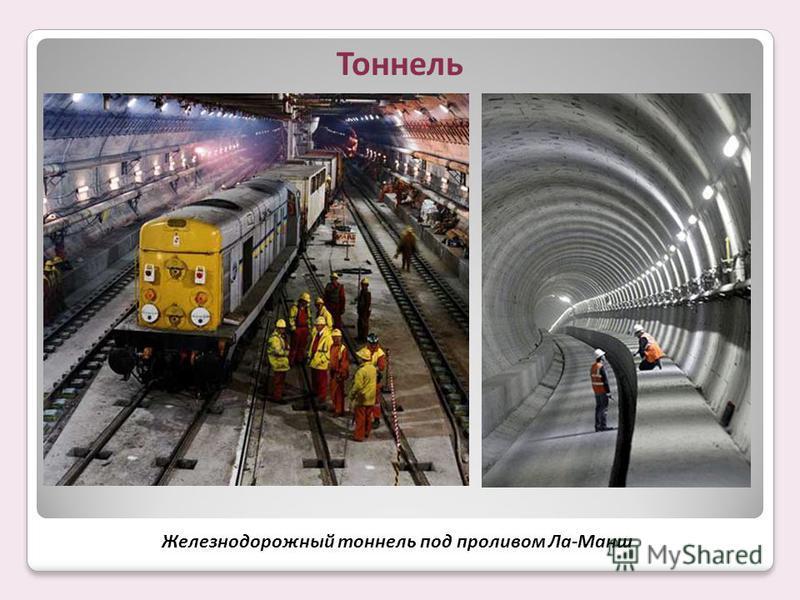 Железнодорожный тоннель под проливом Ла-Манш Тоннель
