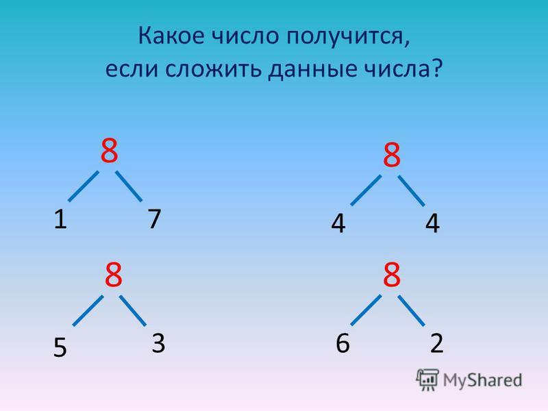 Какое число получится, если сложить данные числа? 8 88 8 17 44 5 362