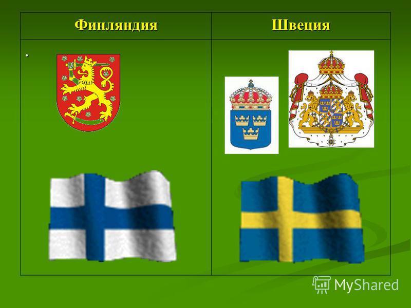 Финляндия Швеция.